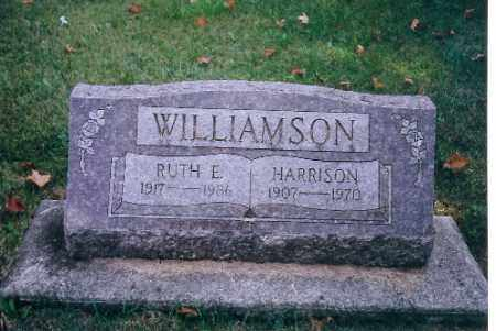 WILLIAMSON, RUTH E. - Miami County, Ohio | RUTH E. WILLIAMSON - Ohio Gravestone Photos