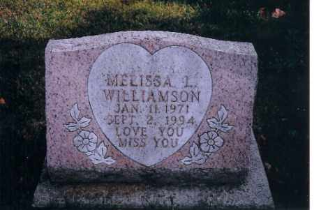 WILLIAMSON, MELISSA L - Miami County, Ohio | MELISSA L WILLIAMSON - Ohio Gravestone Photos