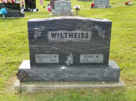 WILTHEISS, DONALD H. - Miami County, Ohio | DONALD H. WILTHEISS - Ohio Gravestone Photos