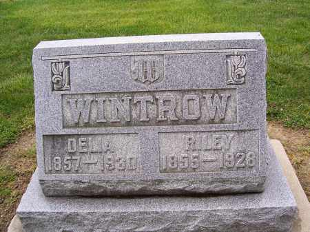 WINTROW, DELIA - Miami County, Ohio | DELIA WINTROW - Ohio Gravestone Photos