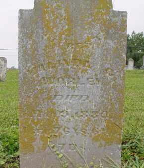 WORLEY, MALINDA C - Miami County, Ohio | MALINDA C WORLEY - Ohio Gravestone Photos