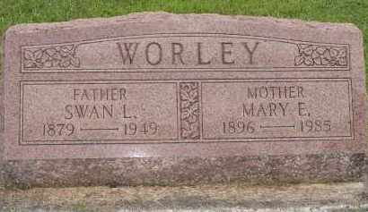CONDON WORLEY, MARY - Miami County, Ohio | MARY CONDON WORLEY - Ohio Gravestone Photos