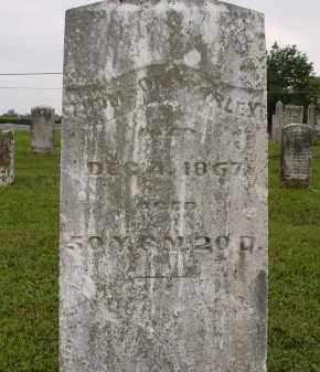 WORLEY, THOMSON - Miami County, Ohio | THOMSON WORLEY - Ohio Gravestone Photos