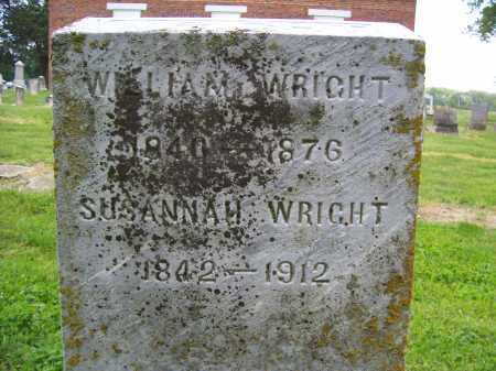 WRIGHT, WILLIAM - Miami County, Ohio | WILLIAM WRIGHT - Ohio Gravestone Photos