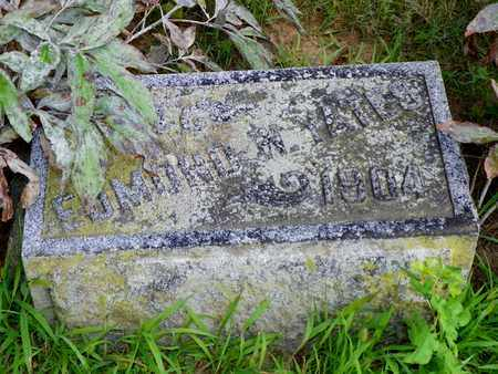 YATES, EDMOND M. - Miami County, Ohio | EDMOND M. YATES - Ohio Gravestone Photos
