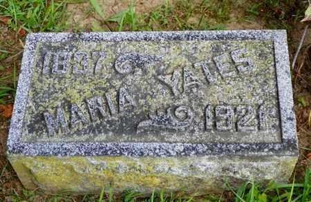 YATES, MARIA - Miami County, Ohio | MARIA YATES - Ohio Gravestone Photos
