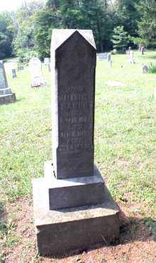 BAKER, JOHN MALANTHAN - Monroe County, Ohio | JOHN MALANTHAN BAKER - Ohio Gravestone Photos