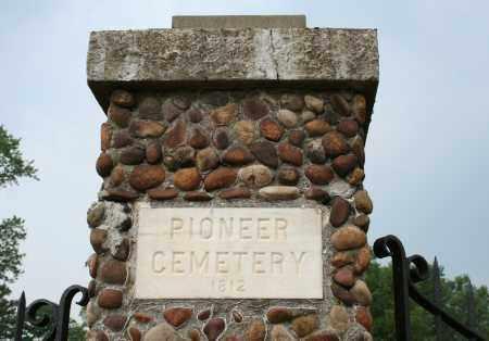 CEMETERY, PIONEER - Monroe County, Ohio | PIONEER CEMETERY - Ohio Gravestone Photos
