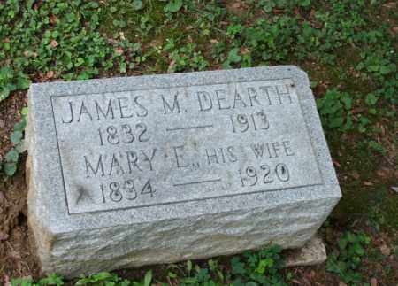 DEARTH, JAMES - Monroe County, Ohio | JAMES DEARTH - Ohio Gravestone Photos