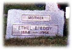 EDDY, ETHEL - Monroe County, Ohio | ETHEL EDDY - Ohio Gravestone Photos