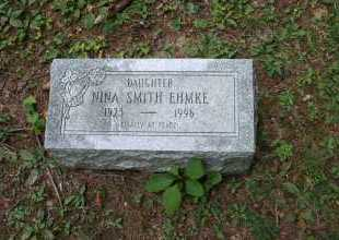 SMITH EHMKE, NINA - Monroe County, Ohio | NINA SMITH EHMKE - Ohio Gravestone Photos