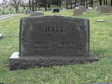 HALL, SARAH A. - Monroe County, Ohio | SARAH A. HALL - Ohio Gravestone Photos