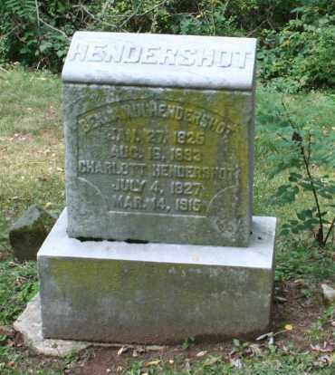 HENDERSHOT, BENJAMIN - Monroe County, Ohio | BENJAMIN HENDERSHOT - Ohio Gravestone Photos
