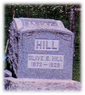 HILL, OLIVE - Monroe County, Ohio | OLIVE HILL - Ohio Gravestone Photos