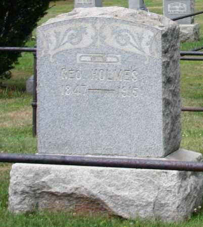HOLMES, GEORGE - Monroe County, Ohio | GEORGE HOLMES - Ohio Gravestone Photos