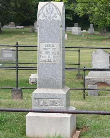 HOLMES, LENA - Monroe County, Ohio | LENA HOLMES - Ohio Gravestone Photos