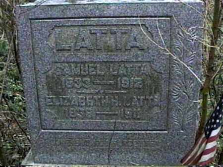LATTA, SAMUEL - Monroe County, Ohio | SAMUEL LATTA - Ohio Gravestone Photos