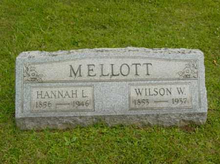 MELLOTT, HANNAH L. - Monroe County, Ohio | HANNAH L. MELLOTT - Ohio Gravestone Photos