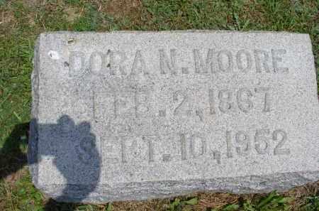 NESBITT MOORE, DORA N. - Monroe County, Ohio | DORA N. NESBITT MOORE - Ohio Gravestone Photos