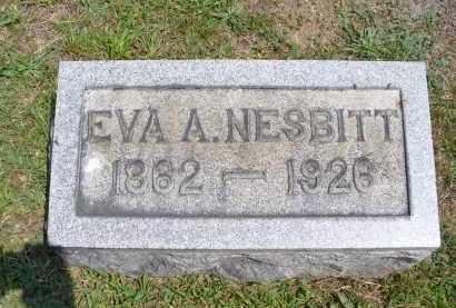 NESBITT, EVA A. - Monroe County, Ohio | EVA A. NESBITT - Ohio Gravestone Photos