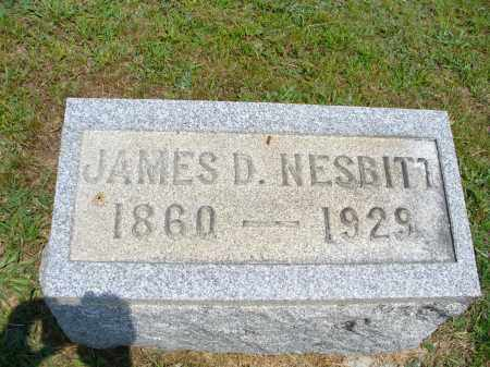 NESBITT, JAMES D. - Monroe County, Ohio | JAMES D. NESBITT - Ohio Gravestone Photos
