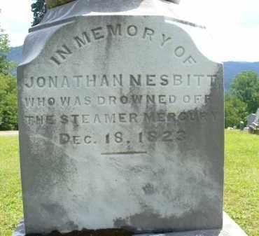 NESBITT, JONATHAN - Monroe County, Ohio | JONATHAN NESBITT - Ohio Gravestone Photos