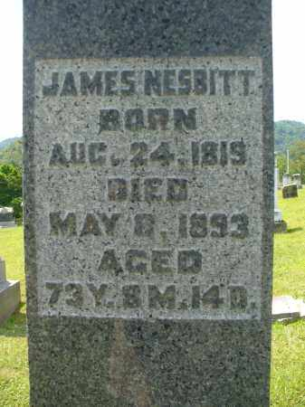 NESBITT, JAMES - Monroe County, Ohio | JAMES NESBITT - Ohio Gravestone Photos
