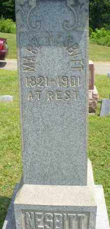 NESBITT, MARY - Monroe County, Ohio | MARY NESBITT - Ohio Gravestone Photos