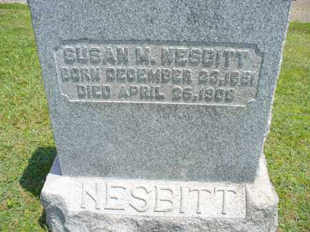 NESBITT, SUSAN M. - Monroe County, Ohio | SUSAN M. NESBITT - Ohio Gravestone Photos