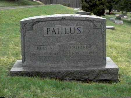 PAULUS, CATHERINE J. - Monroe County, Ohio | CATHERINE J. PAULUS - Ohio Gravestone Photos