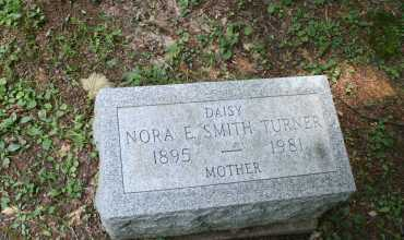 SMITH TURNER, NORA E - Monroe County, Ohio | NORA E SMITH TURNER - Ohio Gravestone Photos
