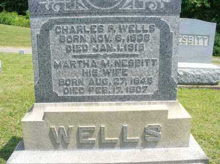 NESBITT WELLS, MARTHA M - Monroe County, Ohio | MARTHA M NESBITT WELLS - Ohio Gravestone Photos