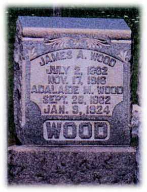WOOD, JAMES - Monroe County, Ohio | JAMES WOOD - Ohio Gravestone Photos