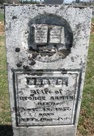 AAMAN, MARY D. - Montgomery County, Ohio | MARY D. AAMAN - Ohio Gravestone Photos