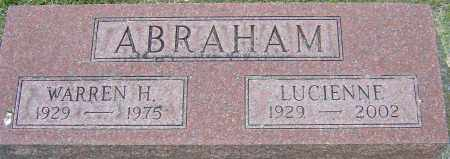 ABRAHAM, LUCIENNE - Montgomery County, Ohio | LUCIENNE ABRAHAM - Ohio Gravestone Photos