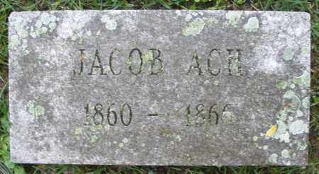 ACH, JACOB - Montgomery County, Ohio   JACOB ACH - Ohio Gravestone Photos