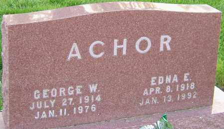 ACHOR, GEORGE - Montgomery County, Ohio | GEORGE ACHOR - Ohio Gravestone Photos