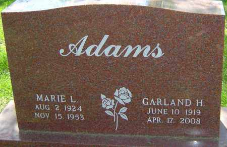 ADAMS, GARLAND - Montgomery County, Ohio | GARLAND ADAMS - Ohio Gravestone Photos