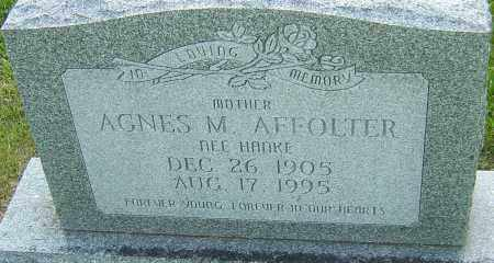 HANKE AFFOLTER, AGNES M - Montgomery County, Ohio | AGNES M HANKE AFFOLTER - Ohio Gravestone Photos