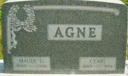 AGNE, I EARL - Montgomery County, Ohio | I EARL AGNE - Ohio Gravestone Photos