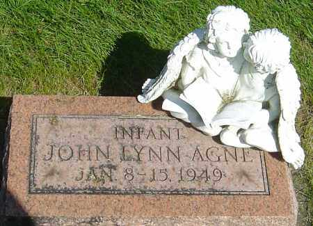 AGNE, JOHN LYNN - Montgomery County, Ohio | JOHN LYNN AGNE - Ohio Gravestone Photos