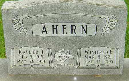 AHERN, RALEIGH I - Montgomery County, Ohio | RALEIGH I AHERN - Ohio Gravestone Photos