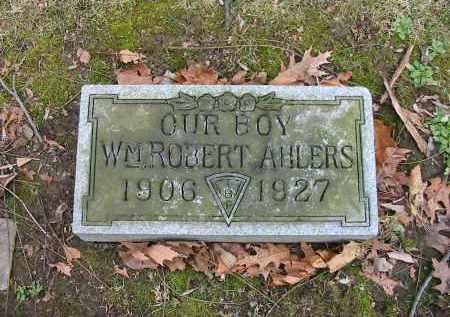 AHLERS, WILLIAM ROBERT - Montgomery County, Ohio | WILLIAM ROBERT AHLERS - Ohio Gravestone Photos