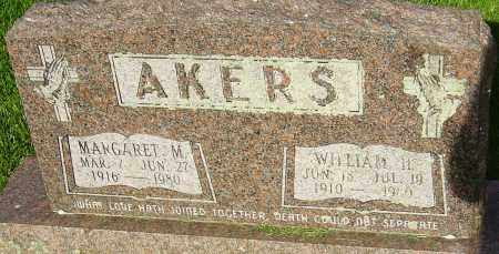 AKERS, WILLIAM H - Montgomery County, Ohio | WILLIAM H AKERS - Ohio Gravestone Photos