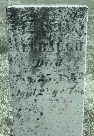 ALBAUGH, ? - Montgomery County, Ohio | ? ALBAUGH - Ohio Gravestone Photos