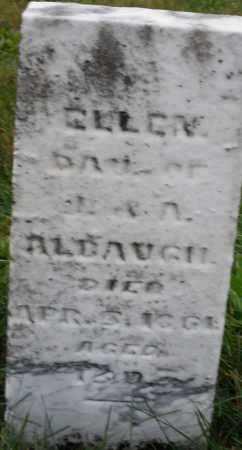 ALBAUGH, ELLEN - Montgomery County, Ohio   ELLEN ALBAUGH - Ohio Gravestone Photos