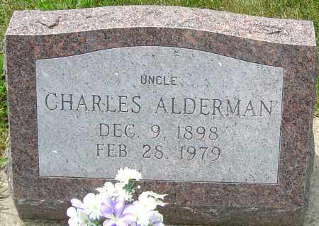 ALDERMAN, CHARLES - Montgomery County, Ohio | CHARLES ALDERMAN - Ohio Gravestone Photos