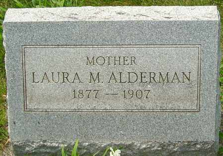 ALDERMAN, LAURA - Montgomery County, Ohio | LAURA ALDERMAN - Ohio Gravestone Photos
