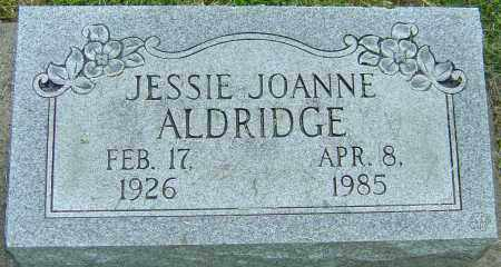 ALDRIDGE, JESSIE JOANNE - Montgomery County, Ohio | JESSIE JOANNE ALDRIDGE - Ohio Gravestone Photos