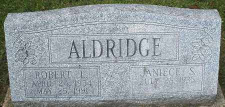 ALDRIDGE, ROBERT L. - Montgomery County, Ohio | ROBERT L. ALDRIDGE - Ohio Gravestone Photos